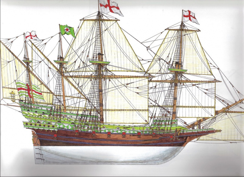 Name: Revenge Galleon 465 tons 1577.jpgViews: 2940Size: 216.3 KB