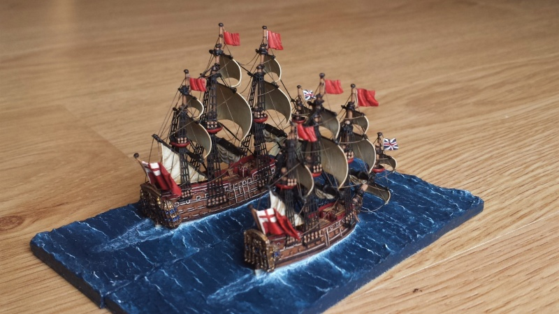Thread: HMS Royal Oak and HMS Bristol 1664