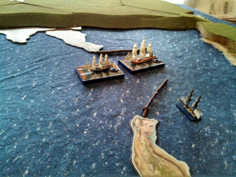 Sails of Glory 2018 Scenario Five 14a