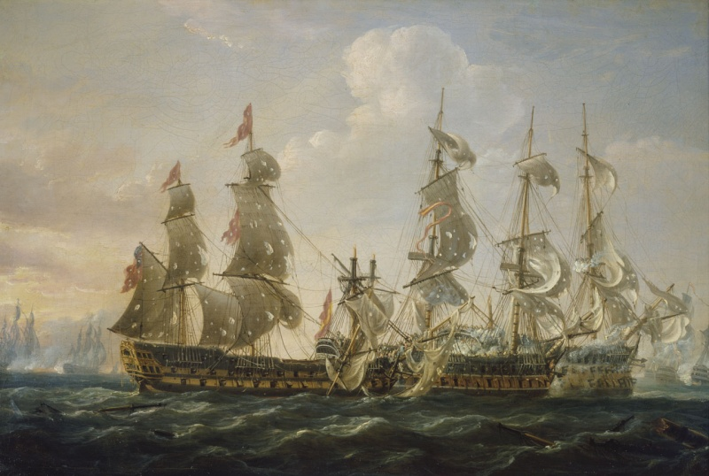 Name:  HMS_Captain_capturing_the_San_Nicolas_and_the_San_Josef.jpg