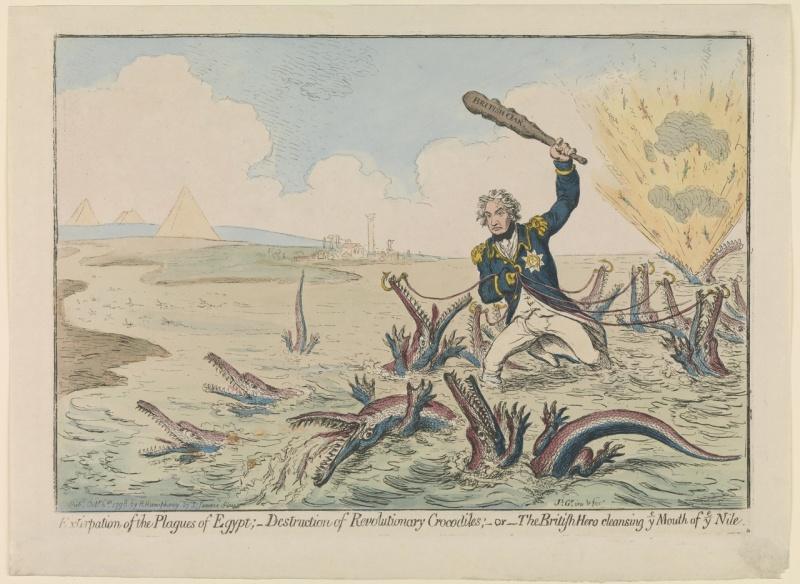 Name:  James_Gillray_Cartoon_Nelson_destroying_Revolutionary_Crocodiles_Nile_1798.jpg Views: 114 Size:  172.2 KB