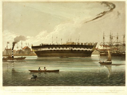 Name:  Temeraire_at_Rotherhithe.jpg Views: 150 Size:  42.2 KB