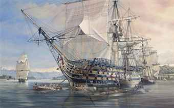 Name:  _hms_royal_sovereign_emerging_from_her_refit.jpg Views: 1626 Size:  8.9 KB