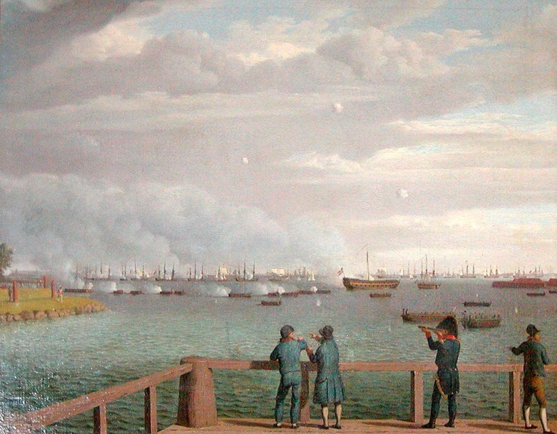 Name:  Engelske_flåde_ud_for_København_august_1807.jpg Views: 205 Size:  214.9 KB
