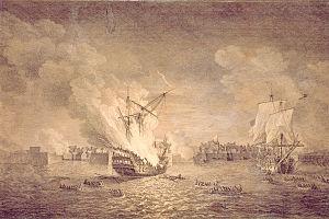 Name:  300px-British_burninng_warship_Prudent_and_capturing_Bienfaisant._Siege_of_Louisbourg_1758._Mari.jpg Views: 231 Size:  17.3 KB