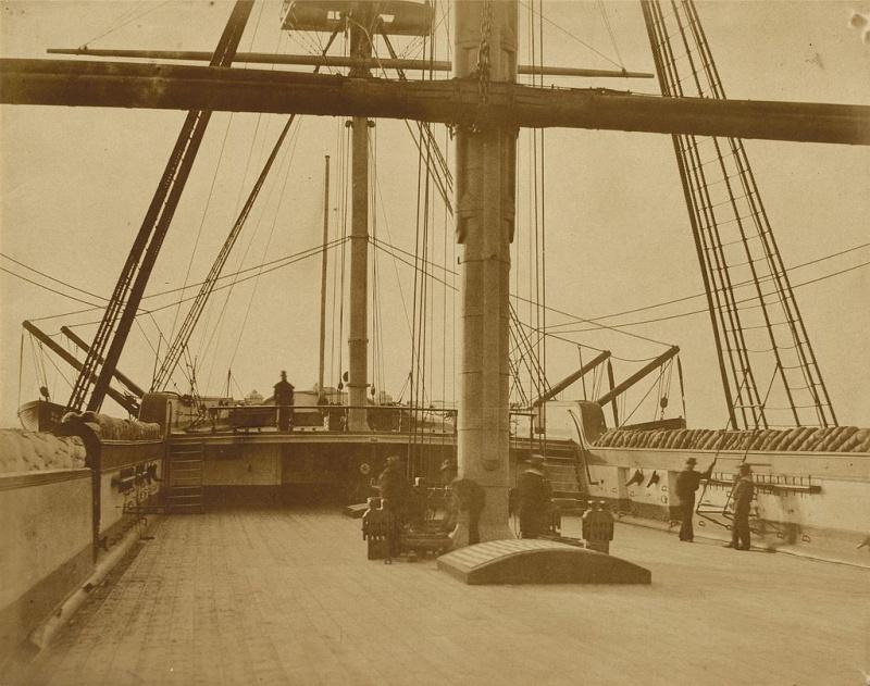 Name:  Quarterdect_of_HMS_Impregnable_by_Linnaeus_Tripe,_c1853.jpg Views: 193 Size:  188.6 KB