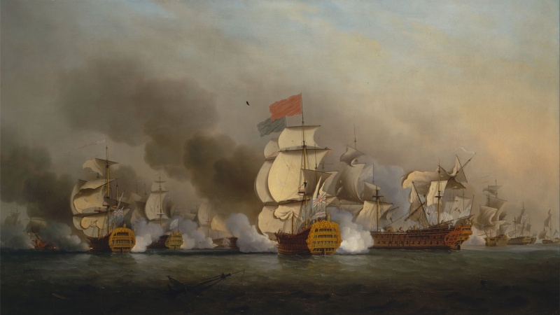 Name:  Samuel_Scott_-_Vice_Admiral_Sir_George_Anson's_Victory_off_Cape_Finisterre_-_Google_Art_Project.jpg