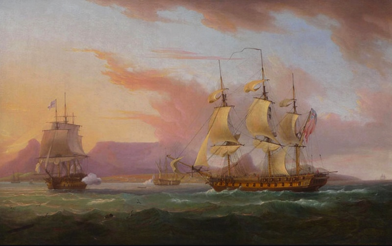 Name:  Thomas_Whitcombe_-_Naval_ships_off_Cape_Town.jpg