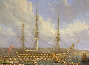 Name:  300px-HMS_Bellerophon_and_Napoleon-cropped.jpg Views: 376 Size:  15.5 KB