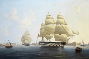 Name:  300px-HMS_Queen,_by_Robert_Strickland_Thomas.jpg