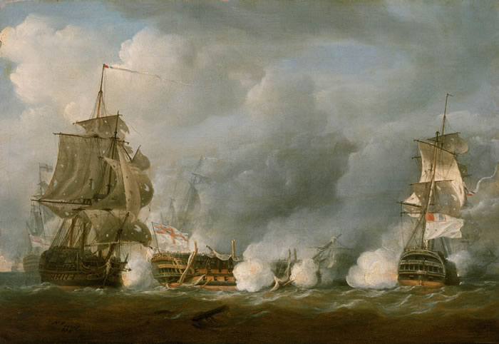 Name:  The_'Defence'_at_the_Battle_of_the_First_of_June,_1794.jpg