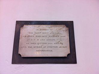 Name:  Memorial_to_Sir_John_Borlase_Warren,_1st_Baronet.JPG Views: 773 Size:  9.6 KB