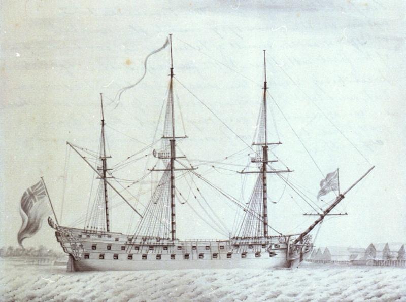 Name:  Invincible_74_canons_integre_a_la_Royal_Navy.jpg Views: 68 Size:  164.0 KB