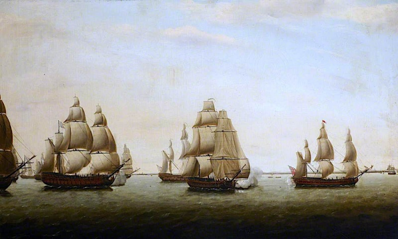 Name:  An-English-Frigate-Chased-by-the-French-off-the-Indian-Coast-Dominic-Serres-oil-painting.jpg Views: 197 Size:  118.7 KB