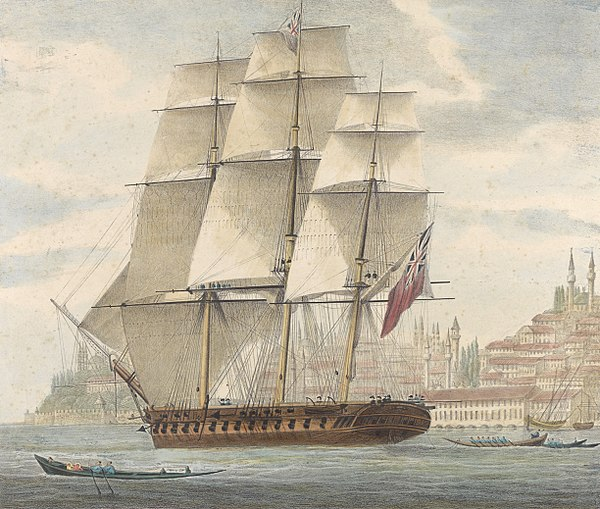Name:  600px-H_M_S__Barham_quitting_Constantinople_With_Sir_Stratford_Canning_on_bd__12th_August_1832_R.jpg Views: 28 Size:  93.7 KB