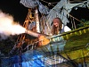 Pirate with Cannon Explosion