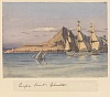 Edward Gennys Fanshawe, Europa Point, Gibraltar, Augt 29th 1857