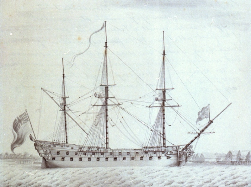 Name:  Invincible_74_canons_integre_a_la_Royal_Navy.jpg Views: 111 Size:  164.0 KB
