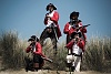 Firing redcoats