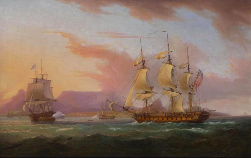Name:  Thomas_Whitcombe_-_Naval_ships_off_Cape_Town.jpg Views: 71 Size:  102.5 KB