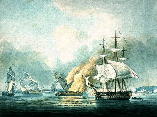 Name:  HMS_Northumberland_battle.jpg Views: 303 Size:  67.0 KB