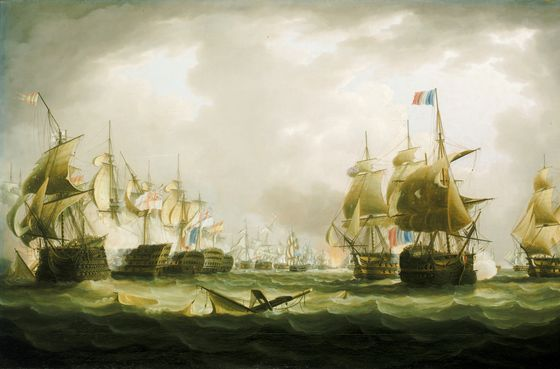 Name:  The_Battle_of_Trafalgar,_21_October_1805,_beginning_of_the_action.jpg