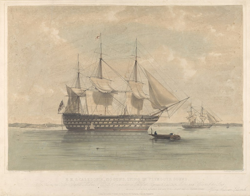 Name:  1024px-H_M_S__Caledonia,_120guns,_lying_in_Plymouth_Sound_-_RMG_PY0771.jpg