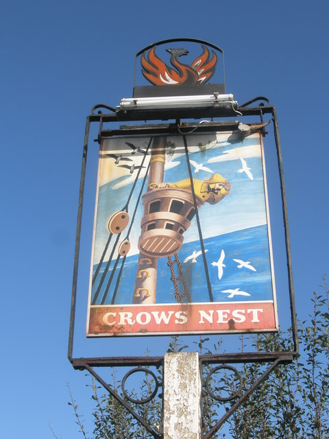 Name:  Pub_sign_in_the_car_park_at_The_Crow's_Nest_-_geograph_org_uk_-_1576419.jpg