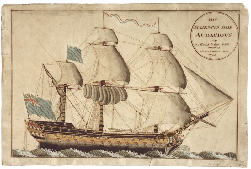 Name:  His_Majestys_Ship_Audacious.jpg Views: 601 Size:  174.6 KB